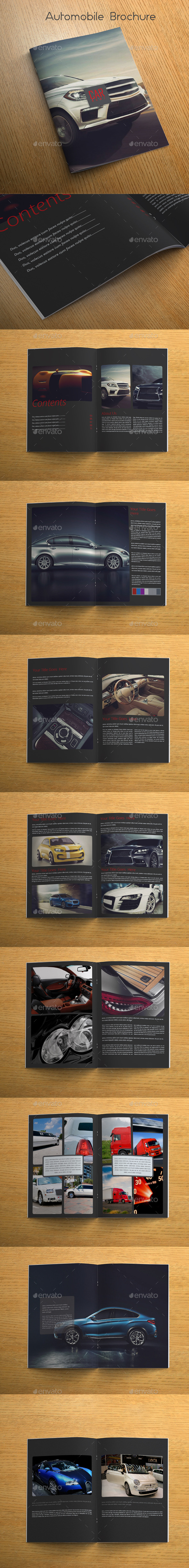GraphicRiver Automobile Brochure 10317695