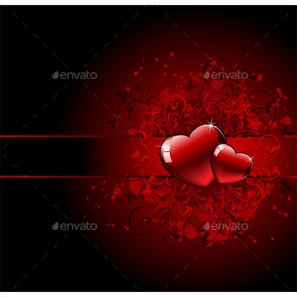 GraphicRiver Valentines Day Grunge Heart 10353519