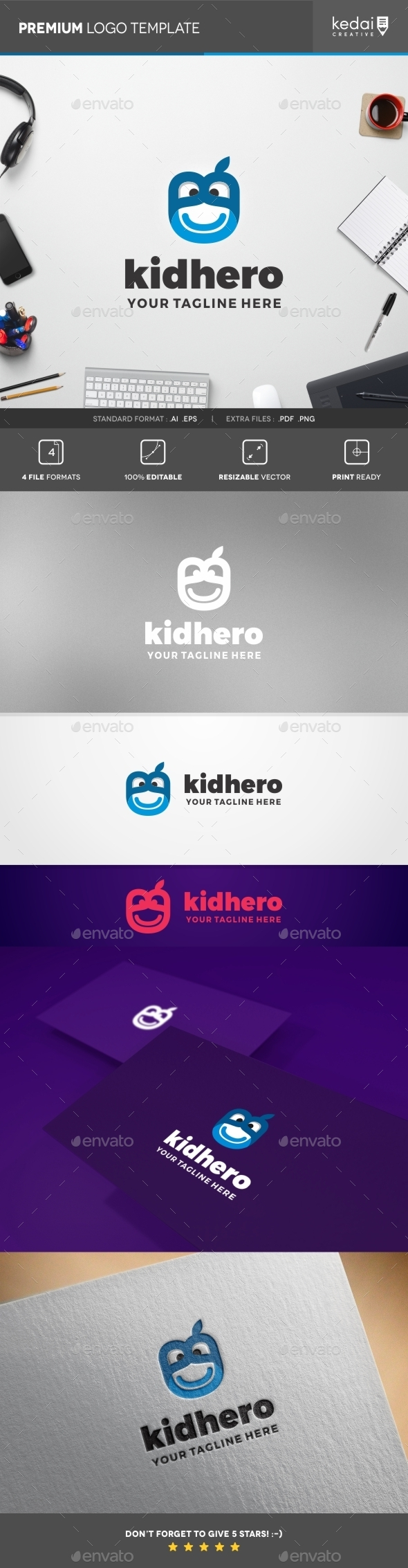 GraphicRiver Kid Hero 10353717