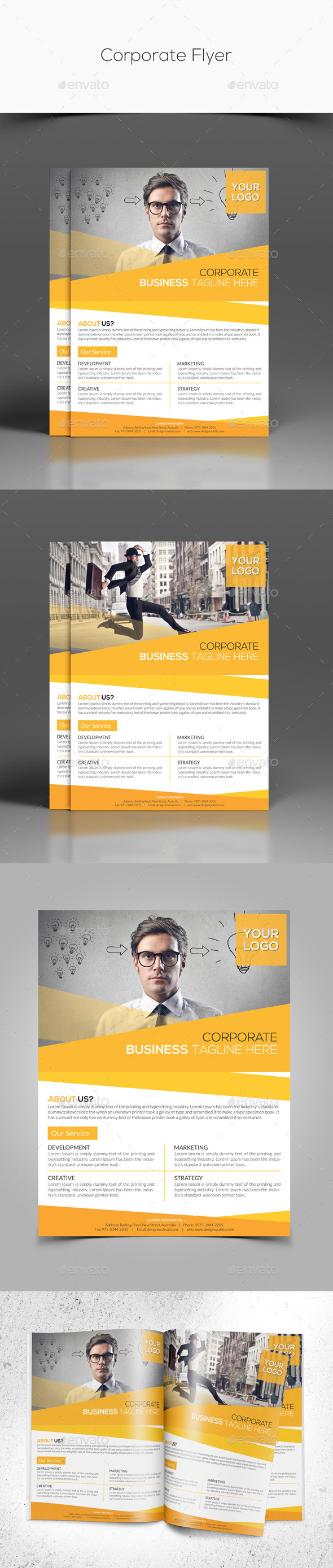GraphicRiver Corporate Flyer 10353972