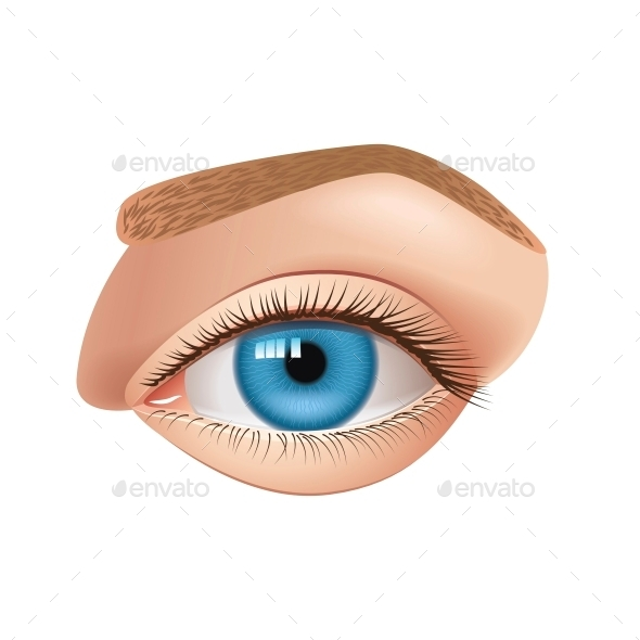 GraphicRiver Human Eye 10354033