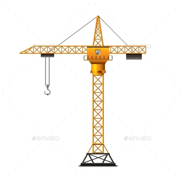 GraphicRiver Construction Crane 10354191
