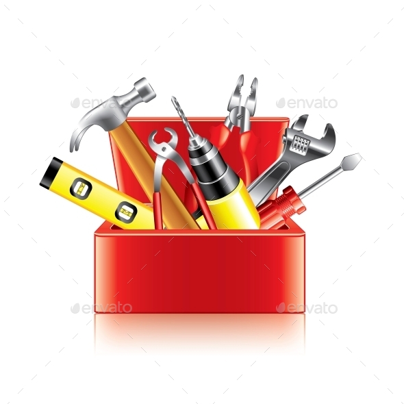 GraphicRiver Tools Box 10354269