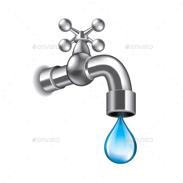 GraphicRiver Water Faucet 10354273