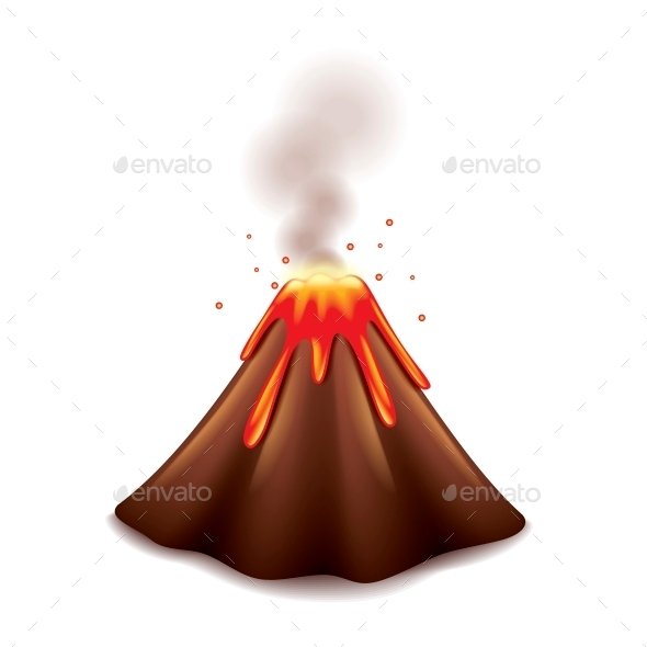 GraphicRiver Volcano 10354275