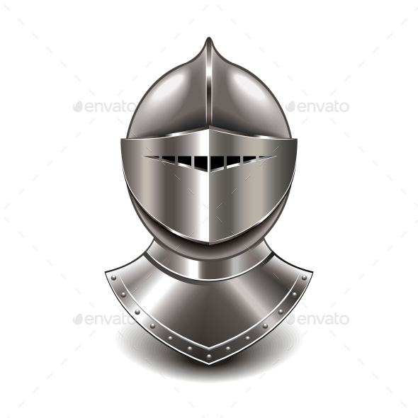 GraphicRiver Medieval Knight Helmet 10354282