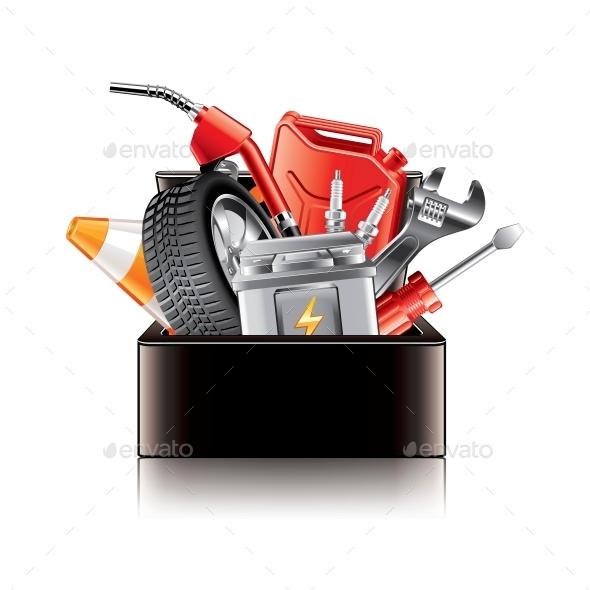 GraphicRiver Auto Parts Box 10354358