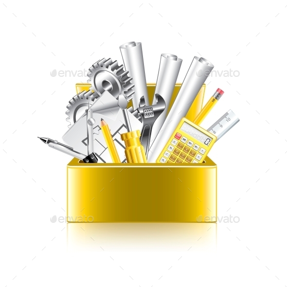 GraphicRiver Engineer Tools Box 10354360