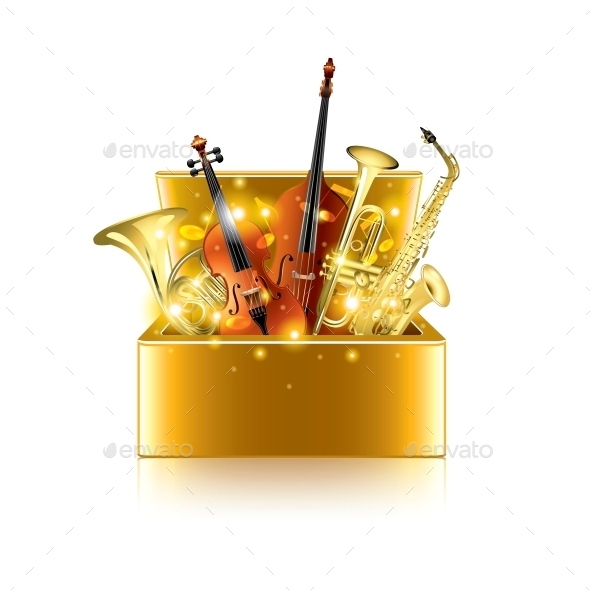 GraphicRiver Musical Instruments Box 10354361
