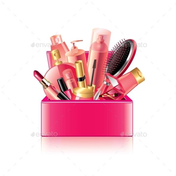GraphicRiver Cosmetics Box 10354362