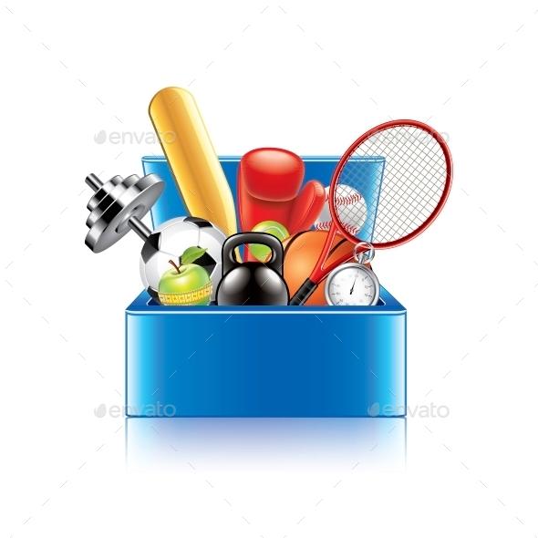 Sport Objects Box
