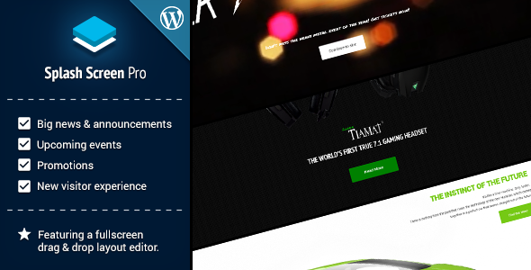 CodeCanyon Splash Screen Pro for WordPress 10354468