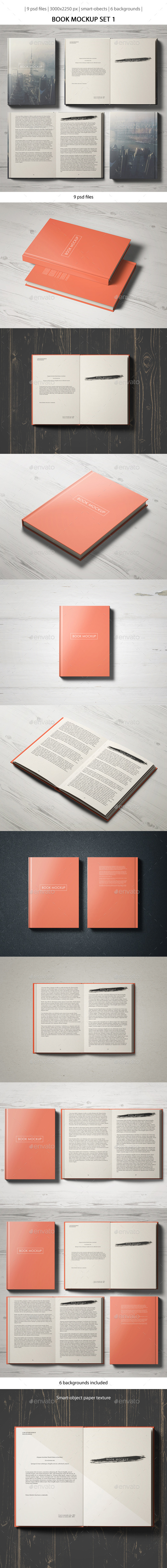 GraphicRiver Book Mockup Set 1 10354620