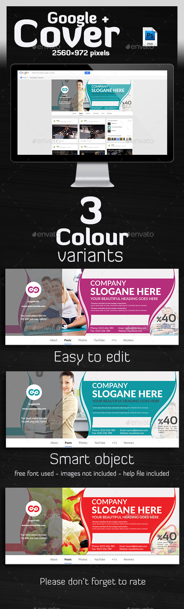 GraphicRiver Multipurpose Google Plus Cover 10355245