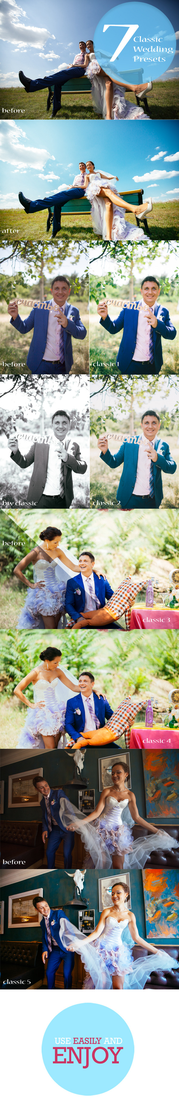 GraphicRiver 7 Wedding Valentine Presets 10302699