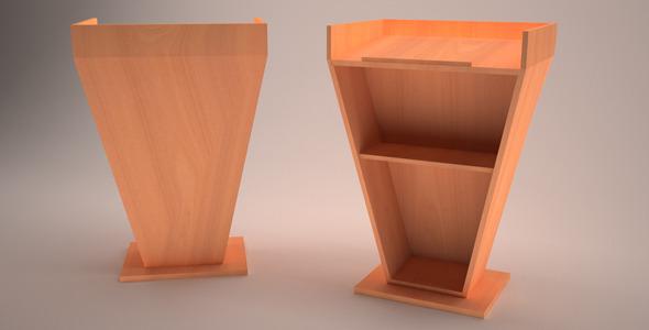 3DOcean 3D Podium Model 10355425