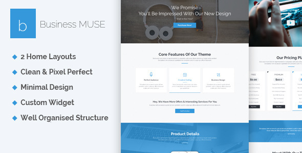 Business - Creative Muse Template