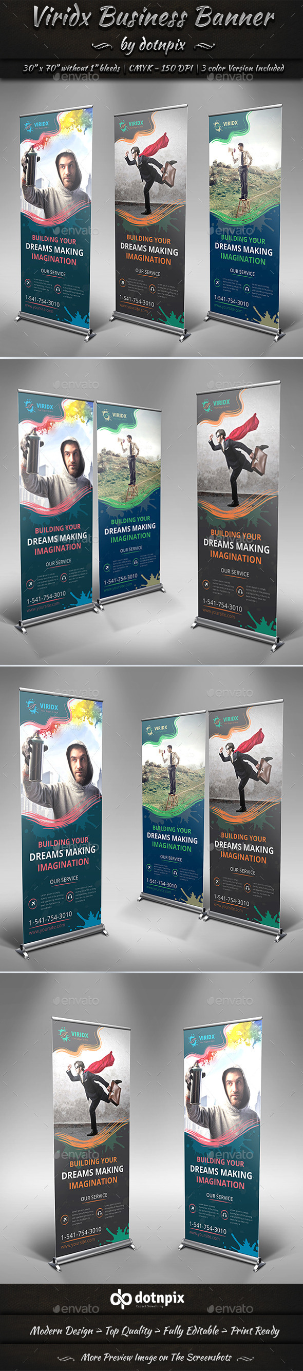 GraphicRiver Viridx Business Banner 10356324