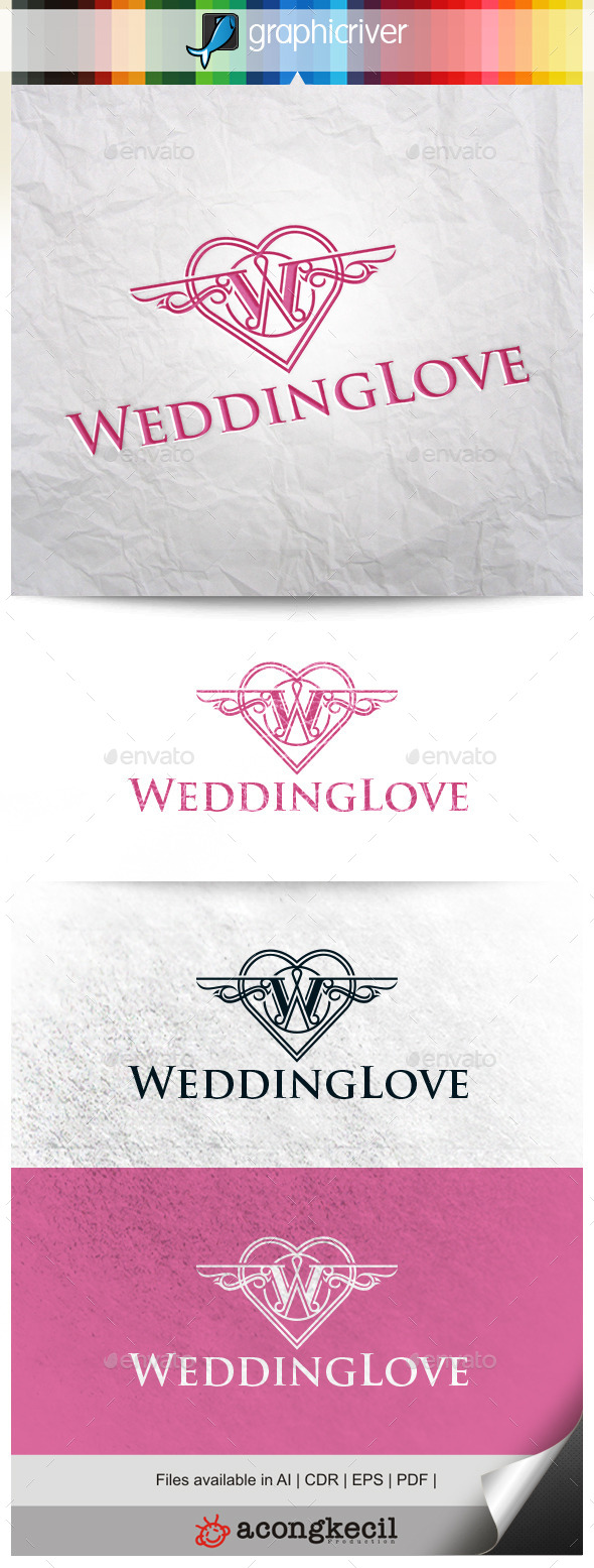 GraphicRiver Wedding Love 10356351