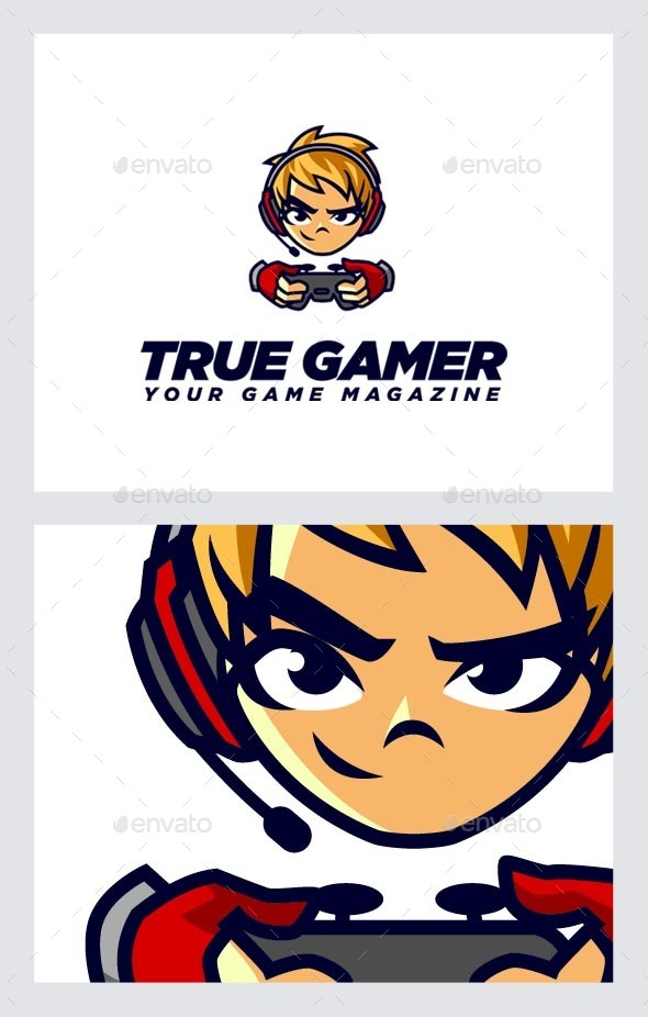 GraphicRiver Gamers Logo Template 10356383