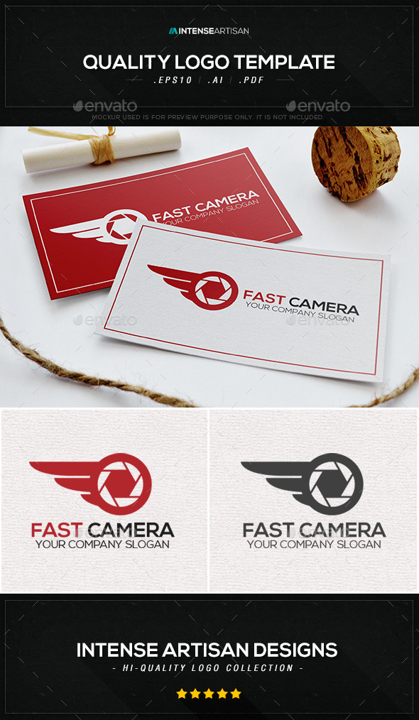 Fast Camera Logo Template - Objects Logo Templates