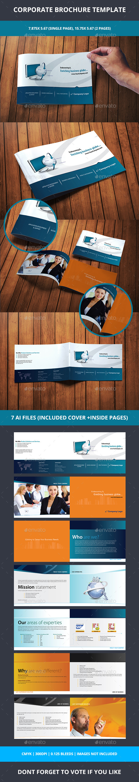 GraphicRiver Corporate Brochure 10357022