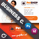 Pet Shop Business Card Templates - GraphicRiver Item for Sale