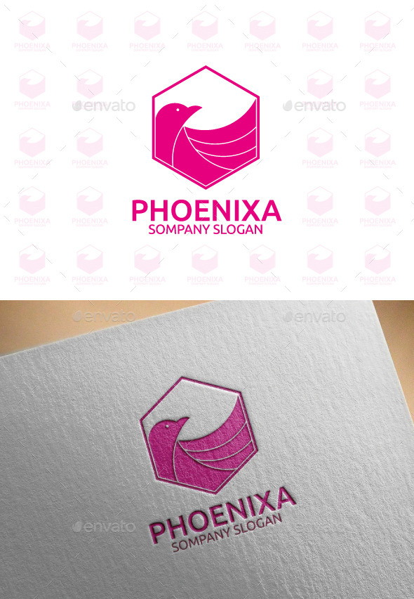 GraphicRiver Phoenixa Animal Logo Template 10357274