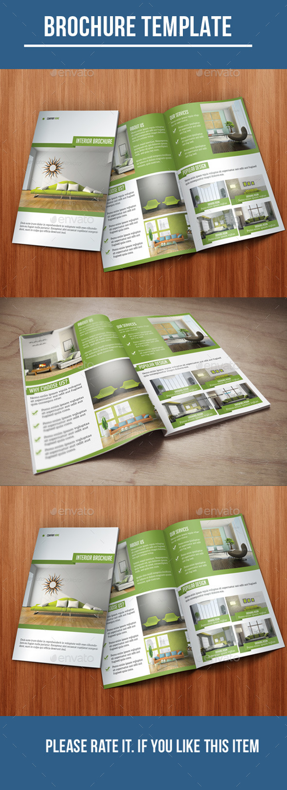 GraphicRiver Bi-Fold Interior Brochure 10357468
