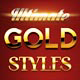 Ultimate Gold Styles - GraphicRiver Item for Sale