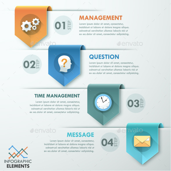 GraphicRiver Modern Infographic Paper Template 10358341