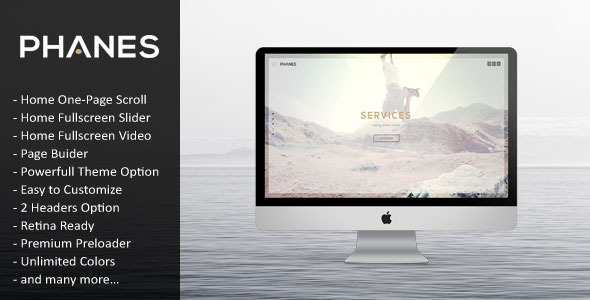 Phanes - Responsive Multipurpose WordPress Theme