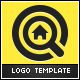 Home Target Logo Template - GraphicRiver Item for Sale