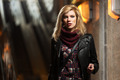 Young fashion blond woman in leather jacket - PhotoDune Item for Sale