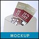 Buckslips Mock-up - GraphicRiver Item for Sale