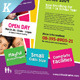 Junior School Promotion Flyers Vol.02 - GraphicRiver Item for Sale