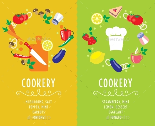 GraphicRiver Cooking Collection Compositsion 10359011