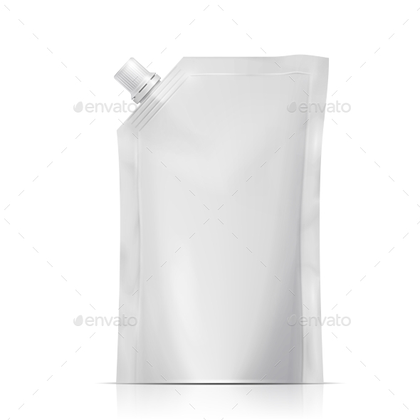 GraphicRiver Blank Spouted Pouch 10359035