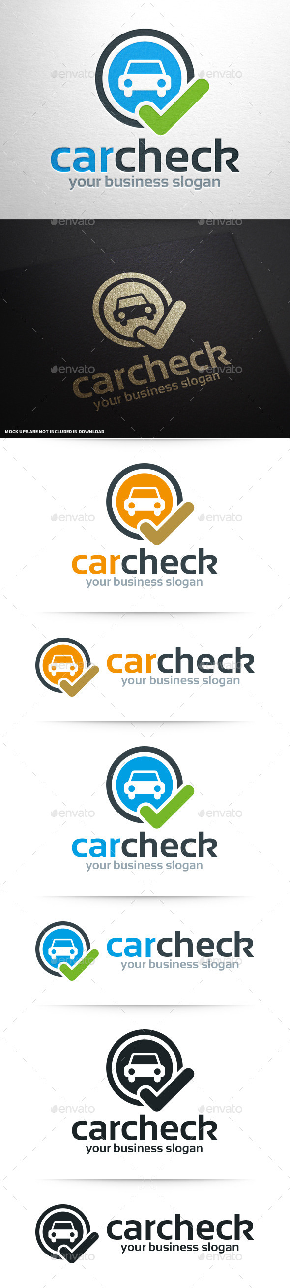 GraphicRiver Car Check Logo Template 10359427