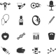 Set of Icons Gynecological
