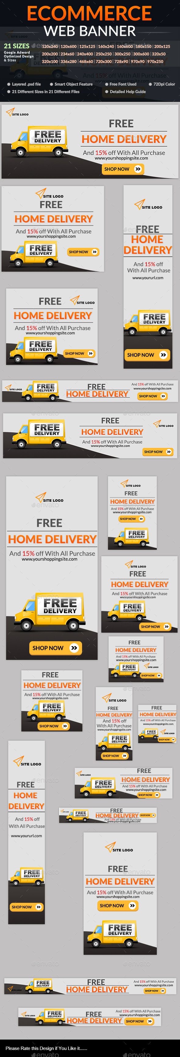 GraphicRiver Ecommerce Web Banner 10361457