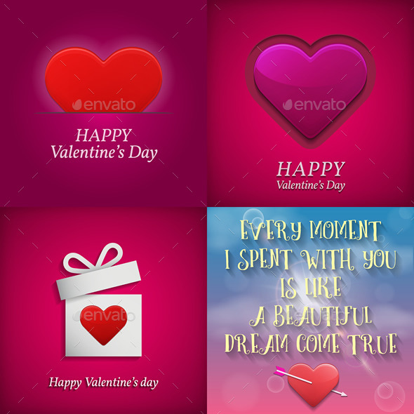 GraphicRiver Valentine s Day Greeting Cards 10361715