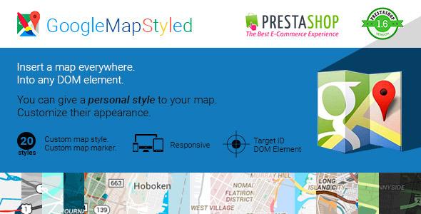 CodeCanyon Google Map Styled 10362391