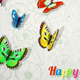 Background with Colorful Butterflies - GraphicRiver Item for Sale