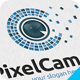 Pixel Camera Logo - GraphicRiver Item for Sale