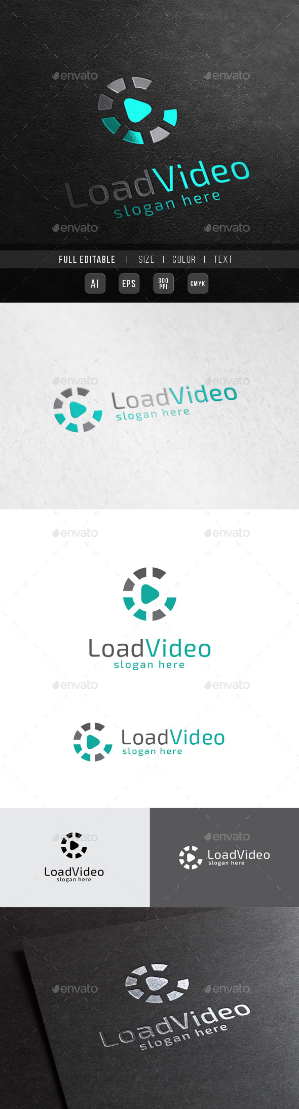 GraphicRiver Load Music Digital Play 10362675