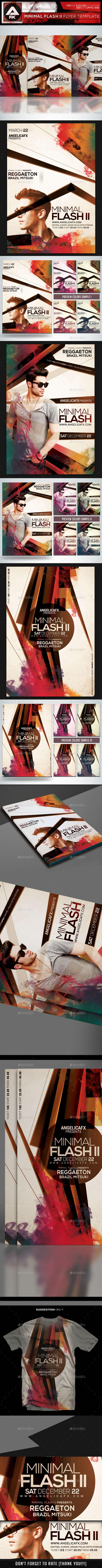 Minimal Flash II Flyer Template