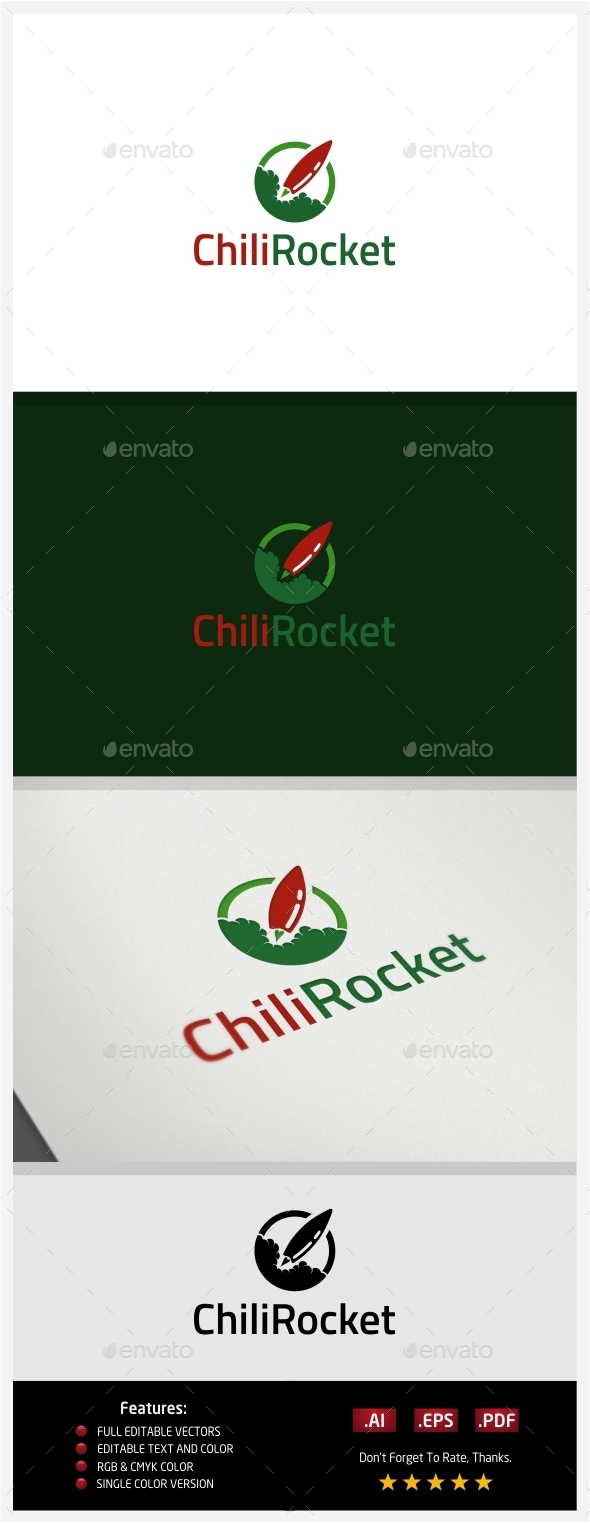 GraphicRiver Chili Rocket 10362746