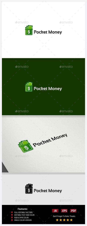 GraphicRiver Pocket Money Logo 10362957