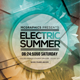Electric Summer Flyer Template - GraphicRiver Item for Sale